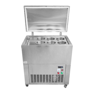 Commerical Stainless Steel 6 Buckets Ice Block Machine