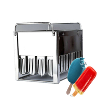 Factory Price High Quality popsicle mold Optional Ice Lolly Mold for Sale
