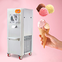 Commercial Table Top Gelato Machine Hard Ice Cream Machine