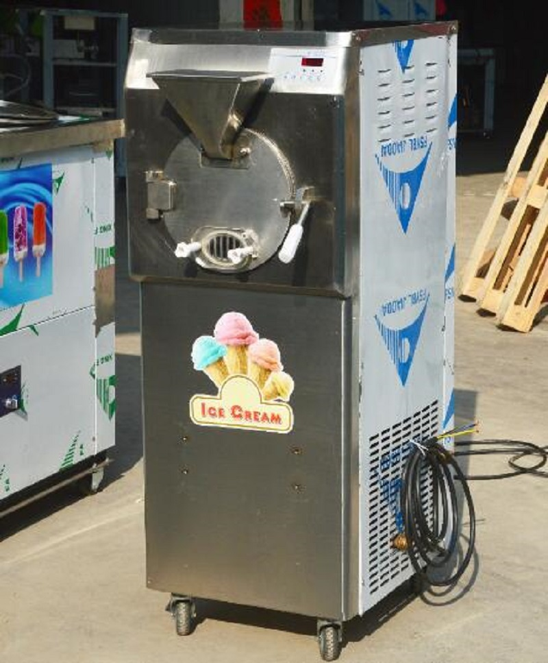 Table Top Small Hard Ice Cream Machine For Sale