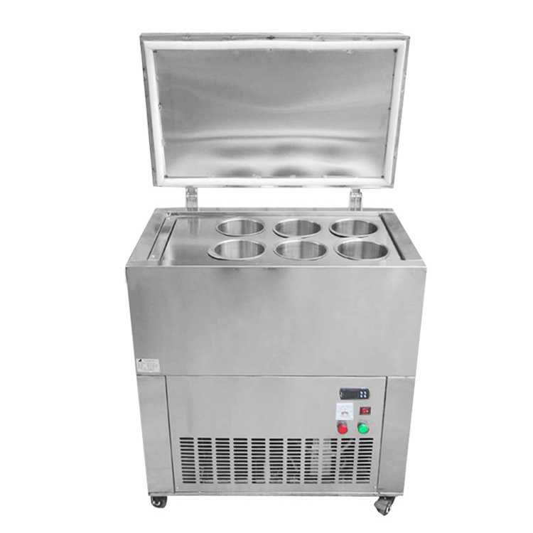 Taiwanese Ice Block Maker Commercial Snowflake Ice Freezer