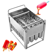 Stainless Steel Ice Cream Popsicle Molds