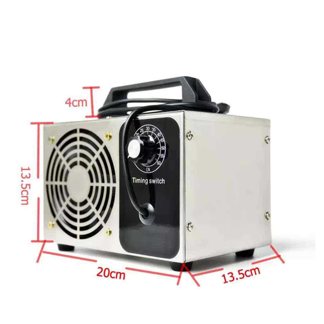 CE 220V 24g/h Ozone Air Purifier Ozone Generator Machine with Timing Switch Air Disinfection for sale