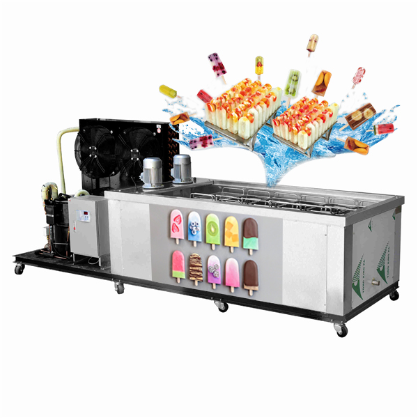 Automatic Ice Cream Popsicle Machine Ice Lolly Making Machine