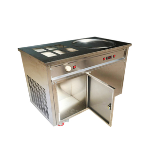 Thai Super Performance Stainless Steel Fried Ice Cream Roll Machine