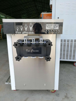 China Factory fruit flavor smooth soft ice cream machine