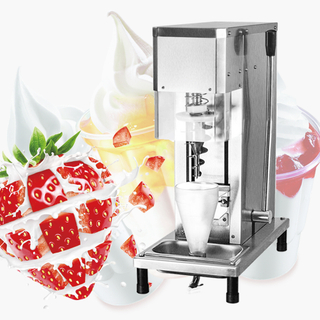 America Snacks Equipment Frozen Yogurt Real Fruits Ice Cream Machine