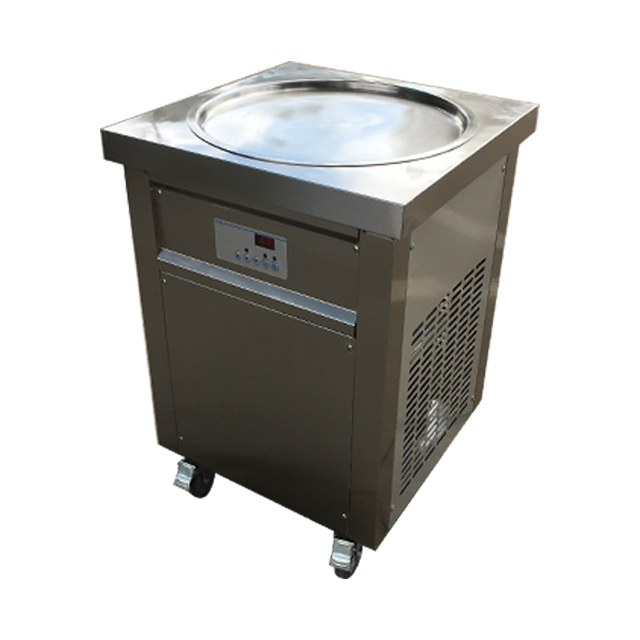 Popular stainless steel Ice Cream Rolls Machine